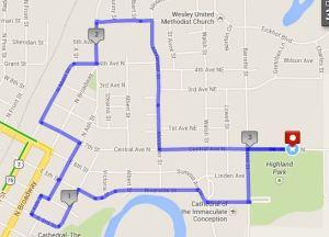 5k route 2014